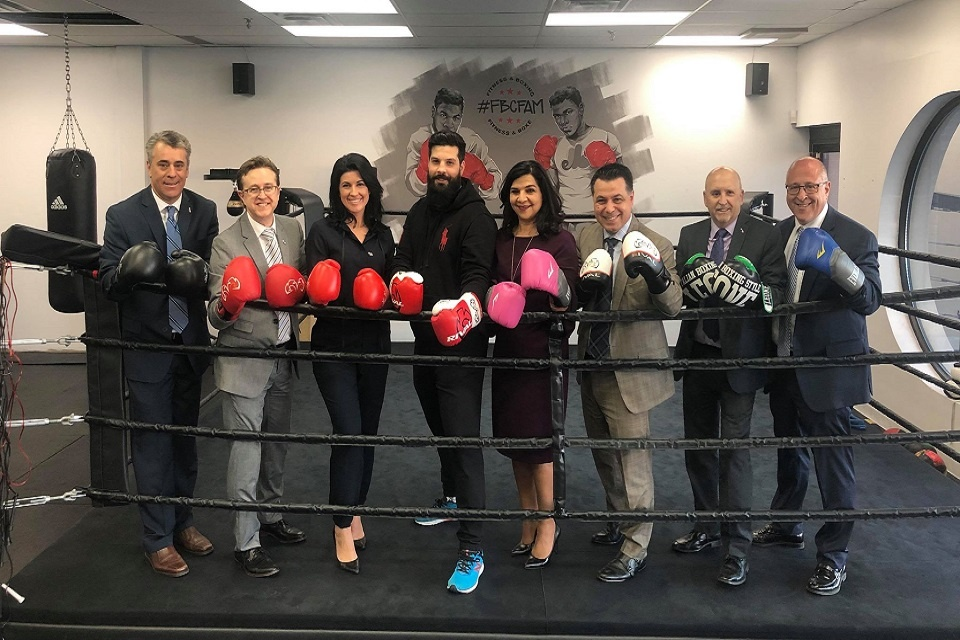 Boxer Jeffrey Furtado and Laval City Counsellors Fight for a Cure | Laval Families Magazine | Laval's Family Life Magazine