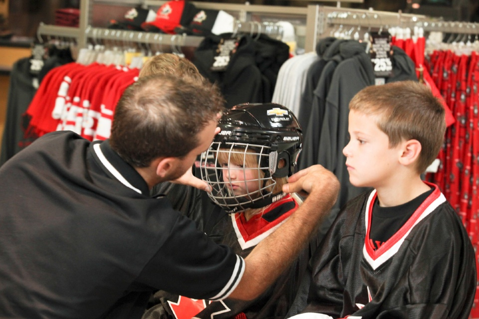 "Is your child""s hockey helmet safe? 